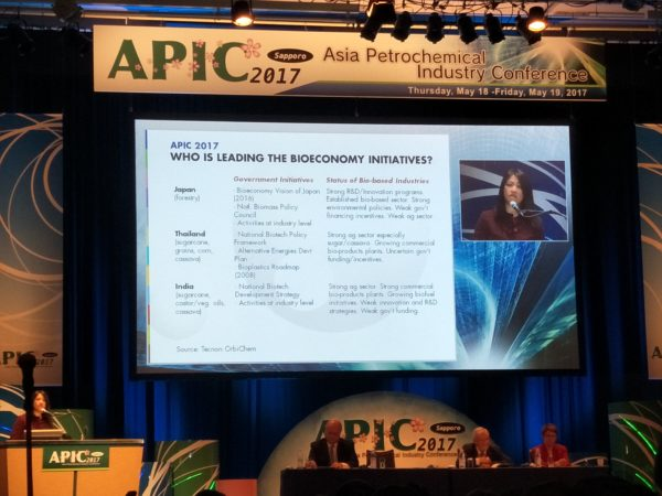 Spreading BIO news at APIC 2017